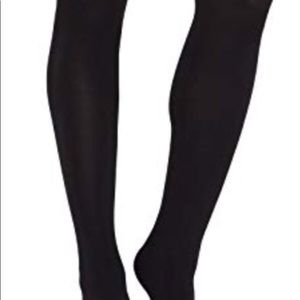 467b88bf6eadef Express Accessories - NWT Express Black Plush Fleece Lined Full Tights